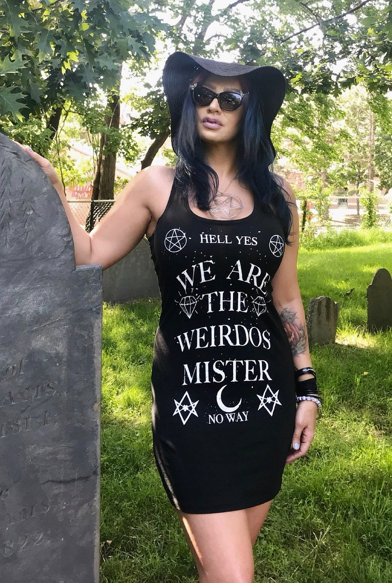 Image of We Are The Weirdos Mister Dress