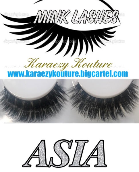 "Image of MINK EYELASH STRIPS (MUA Exclusives Collection) ""ASIA"""