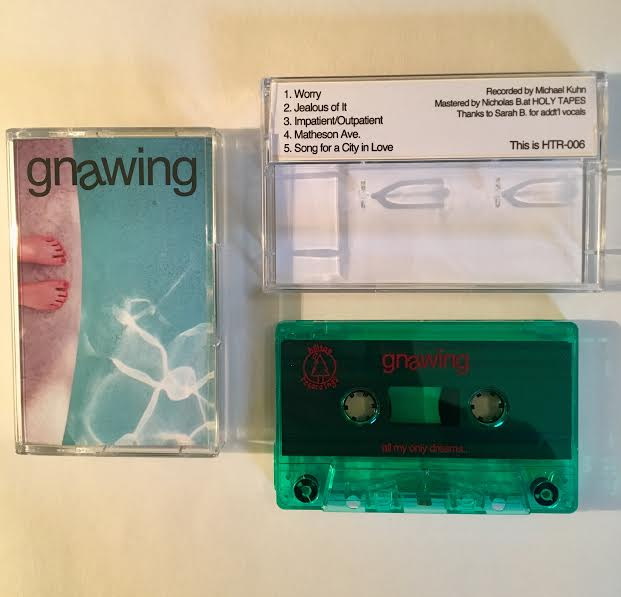 "Image of Gnawing ""Self Titled"" Cassette"
