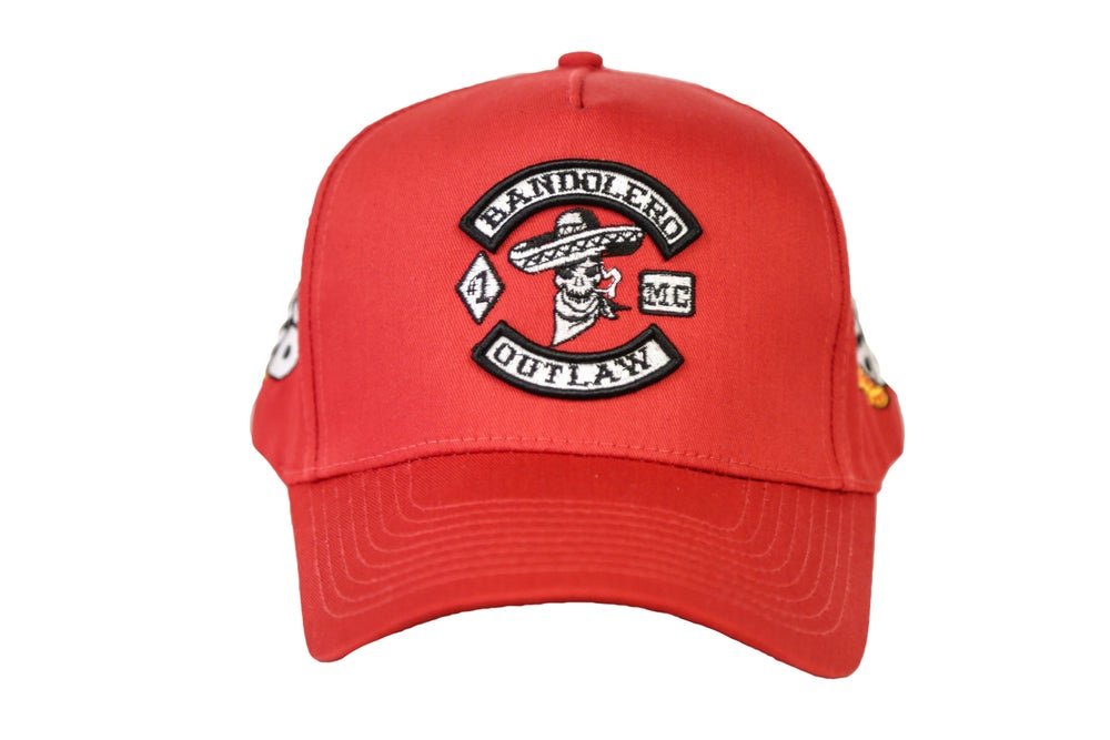 Image of Red Bandolero Outlaw Trucker Hat