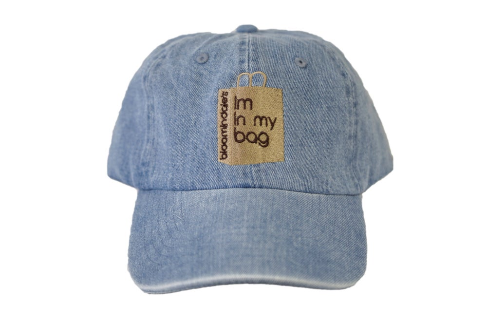 Image of Denim Im In My Bag Dad Hat