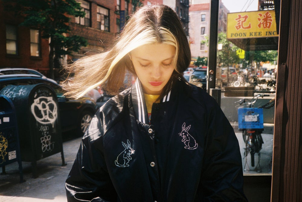 Image of NEW Bunny Starter Jacket 🐰