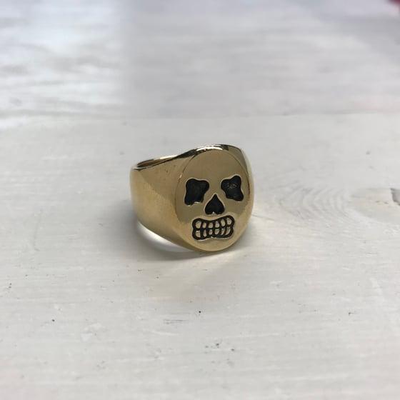 Image of Skull Signet Ring