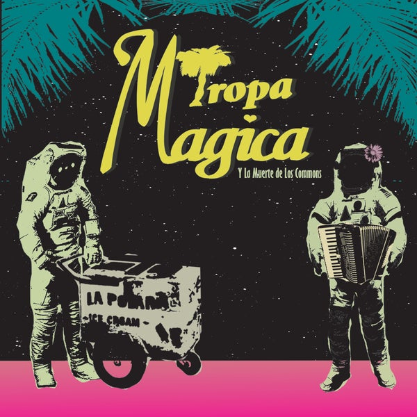 Image of Tropa Magica Y La Muerte De Los Commons EP (Limited Edition CD)