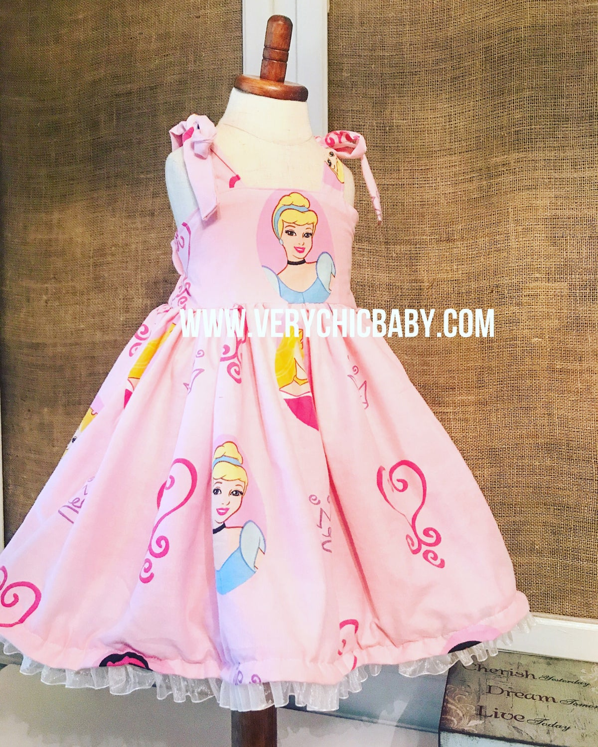 Image of RTS Cinderella Princess Dress