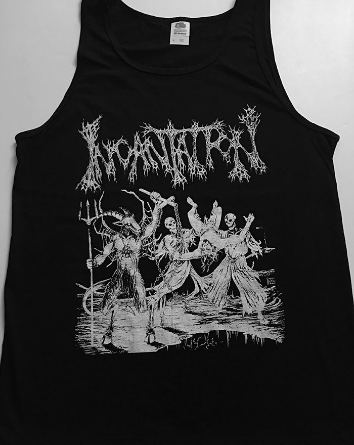 "Image of Incantation "" Blasphemous Cremation "" Tank Top"