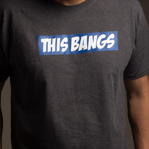 Image of Charcoal Heather This Bangs Tee