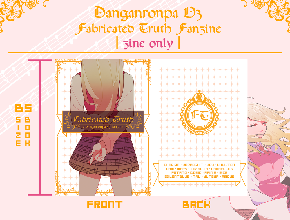 Danganronpa V3: Fabricated Truth Fanzine | Zine Only