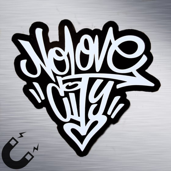 Image of Graffiti Logo Magnet