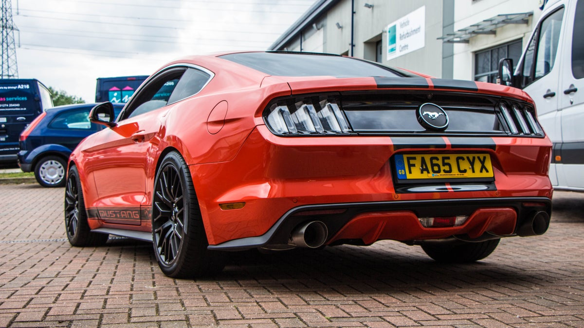 Image of Ford Mustang 2.3 Eco-boost Remus Exhaust