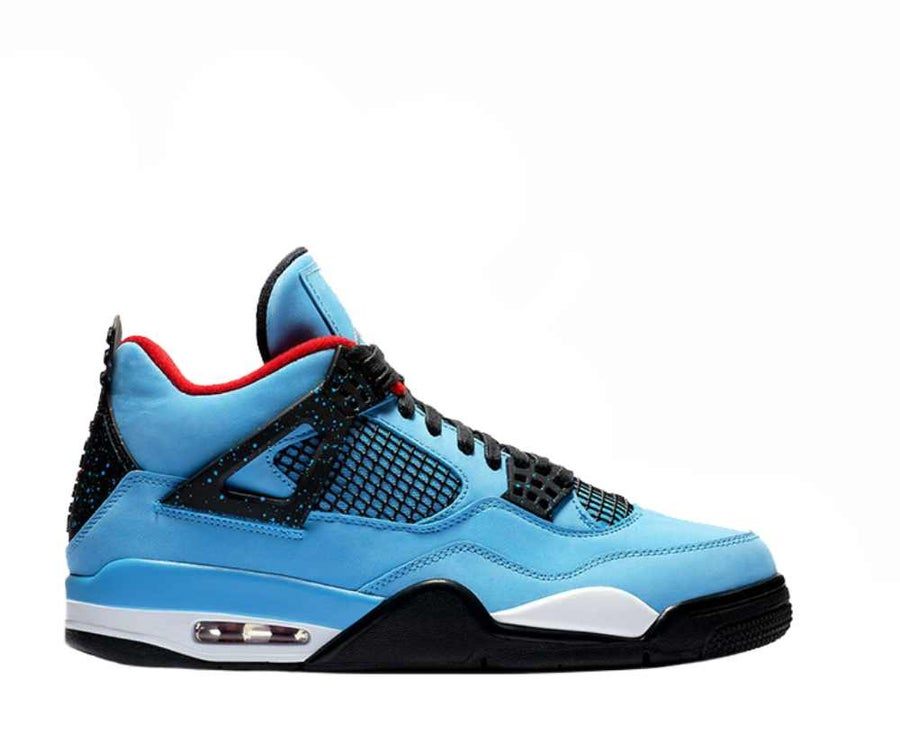 "Image of TRAVIS SCOTT X NIKE AIR JORDAN 4 """"CACTUS JACK"" 308497-406"