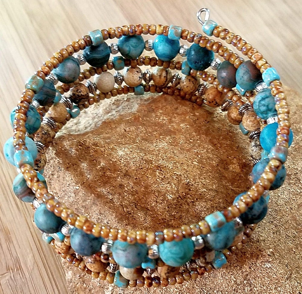 Image of Walk in the Woods Wrap Bracelet
