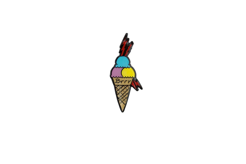 Image of BRRR Gucci Mane Ice Cream Trap Pin