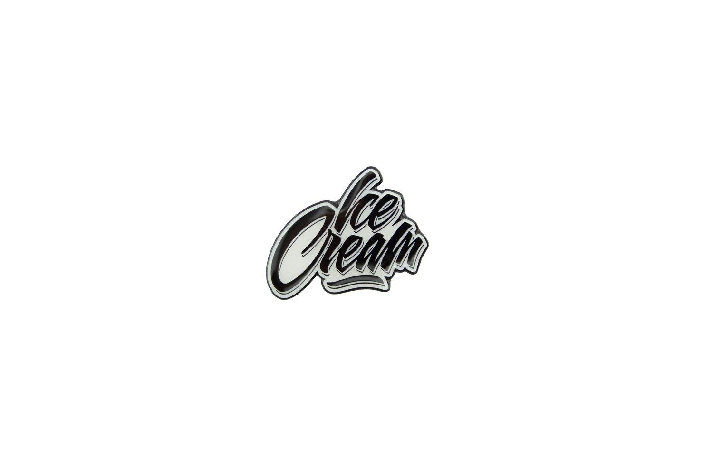 Image of ICE CREAM Logo Pin