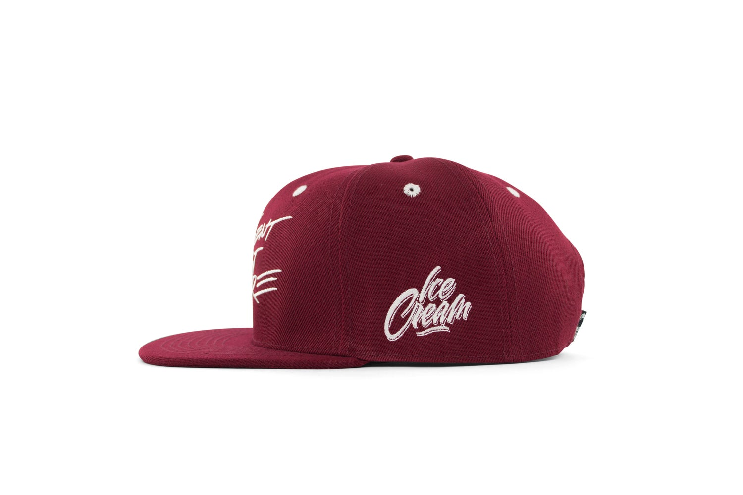 Image of Zonders Past, Present & Future Snapback, burgundy