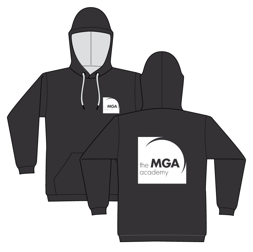Image of MGA Hoodie - Black or Grey
