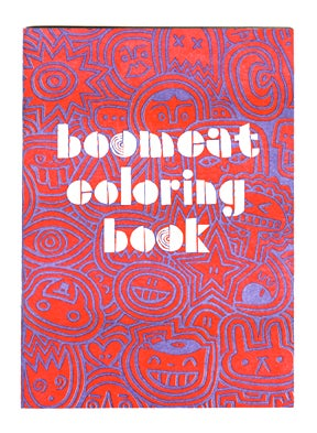 Image of BOOMCAT COLORING BOOK