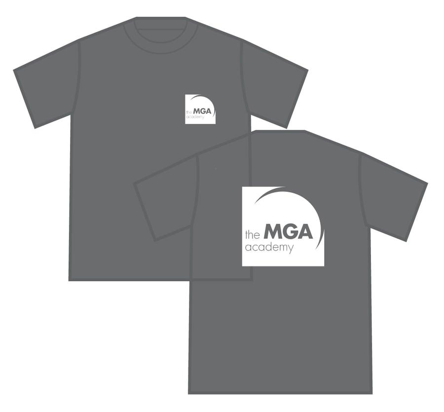 Image of MGA T-Shirt - Black, Grey and White