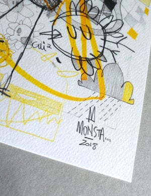 """Image of """"Tidy up"""" - A4 print"""