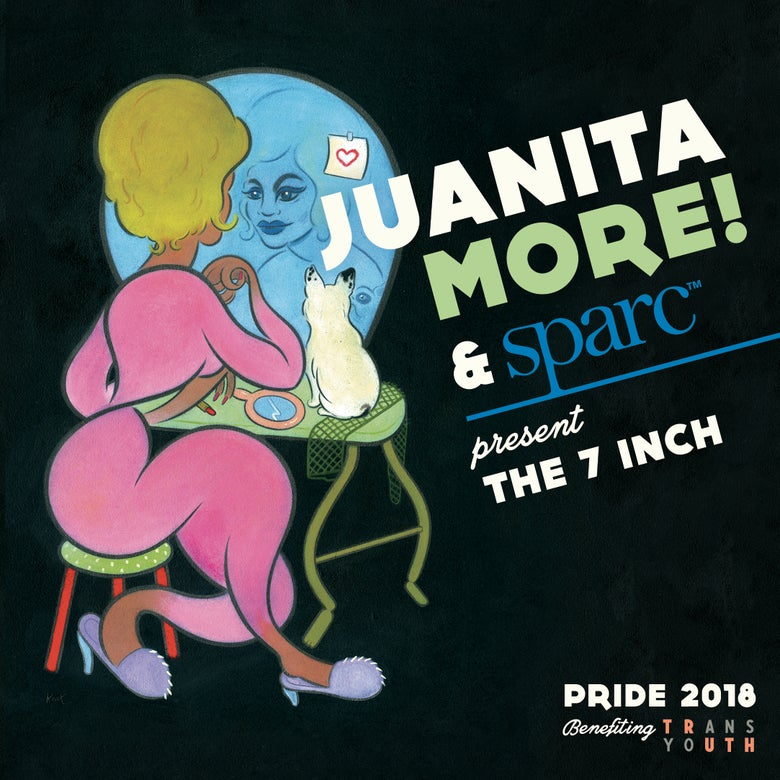 Image of Juanita MORE! & Sparc - The 7 inch PRE-ORDER