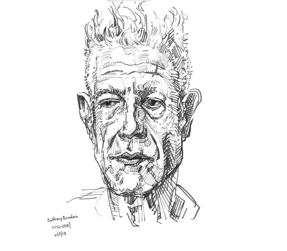 Image of Bourdain