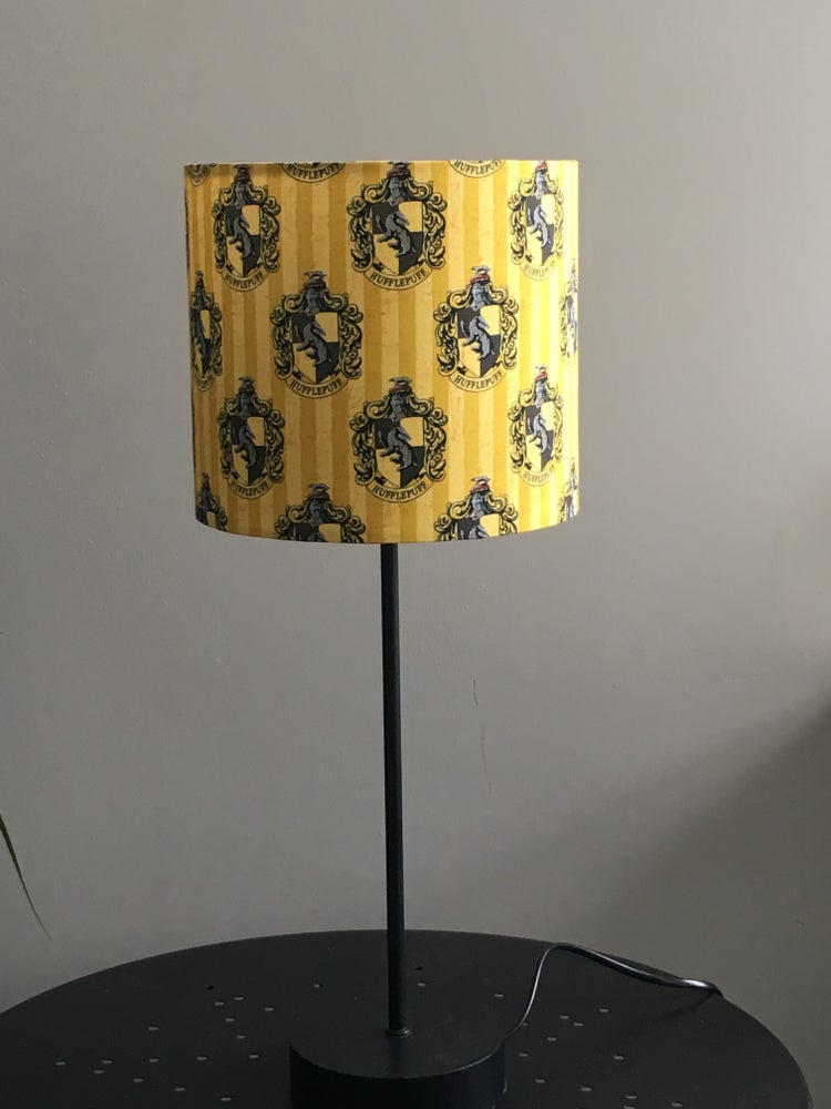 Image of Harry Potter Hufflepuff Lampshade 20cm