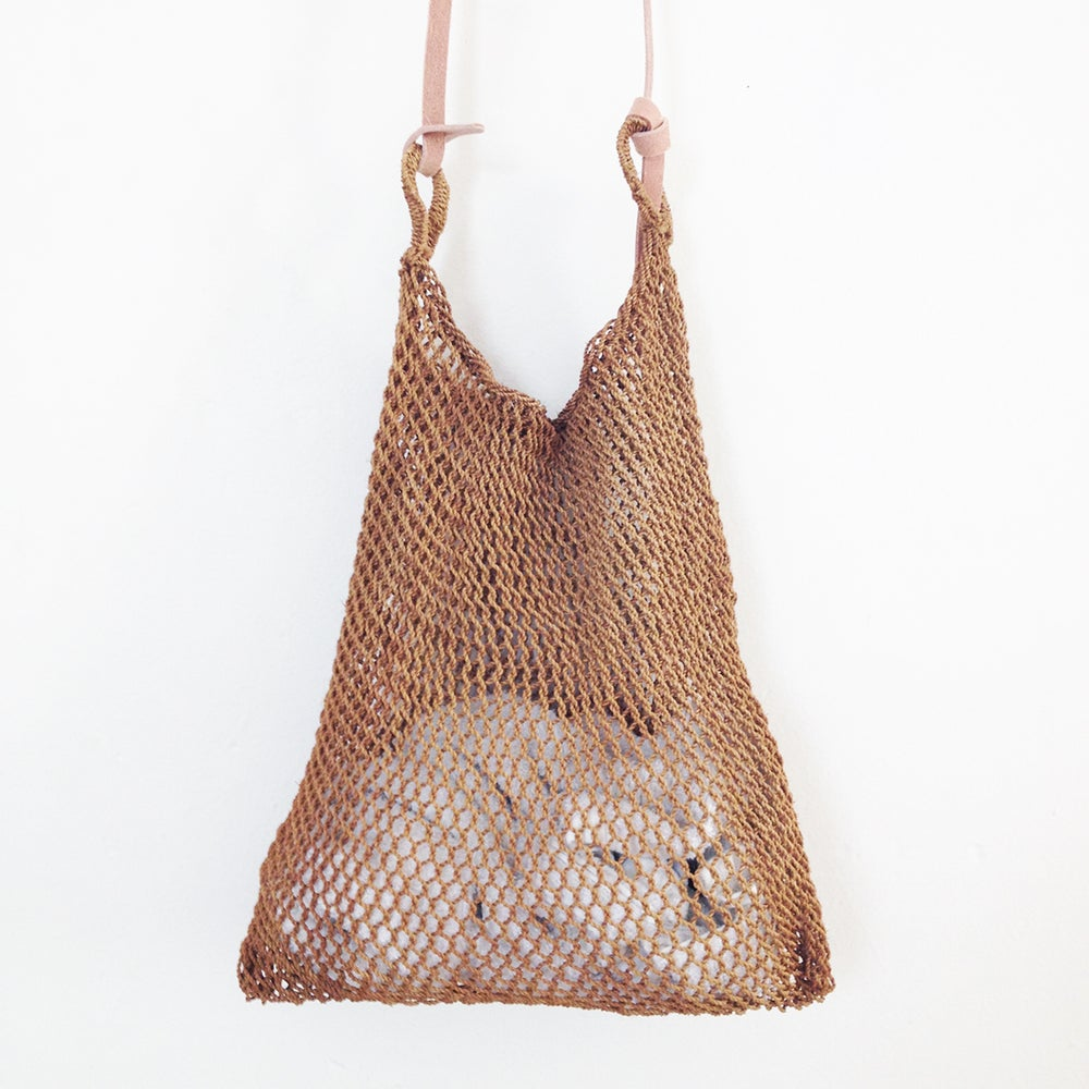 Image of Humo Handwoven Smoked Maguey Mesh Bag