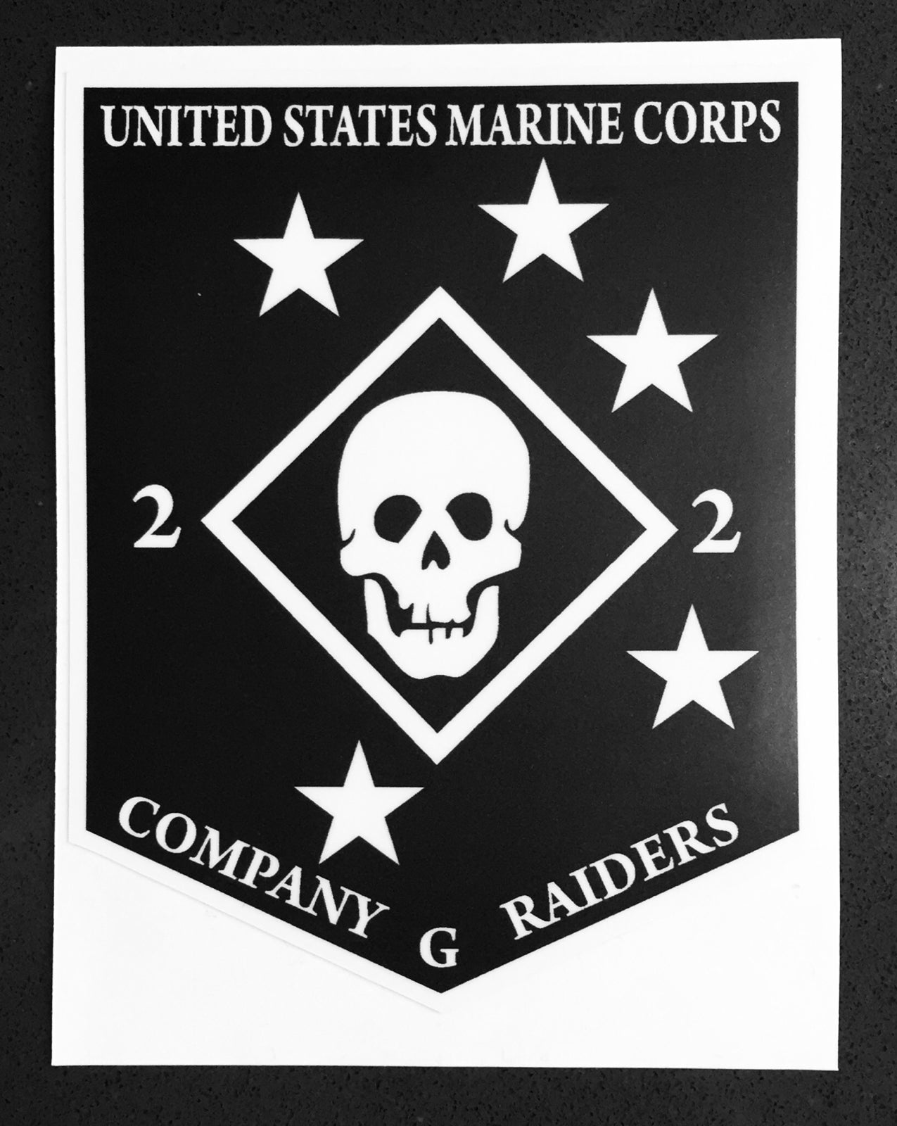 Image of Golf 2/2 Raider Decals