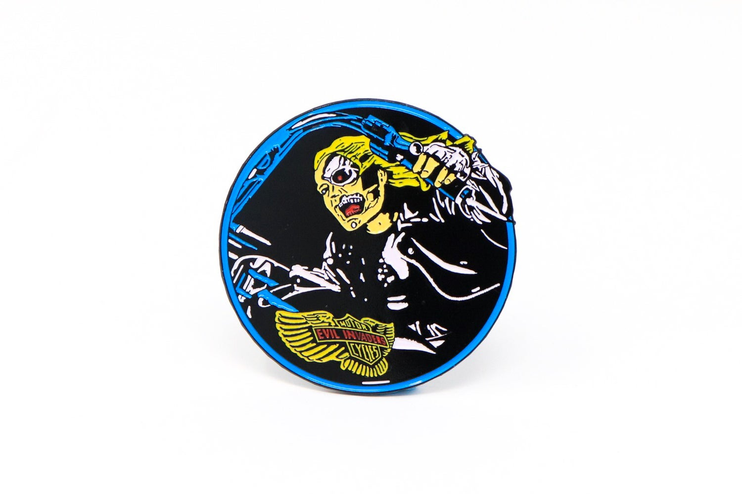 Image of Razor - Evil Invaders Enamel Pin