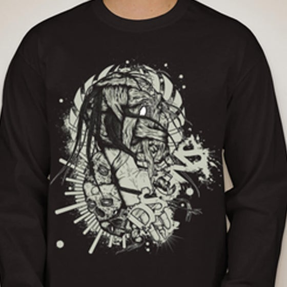 Image of Zombie Long Sleeve T-shirt