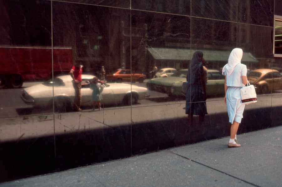 Image of Woman in a Head Scarf, New York, NY 1981