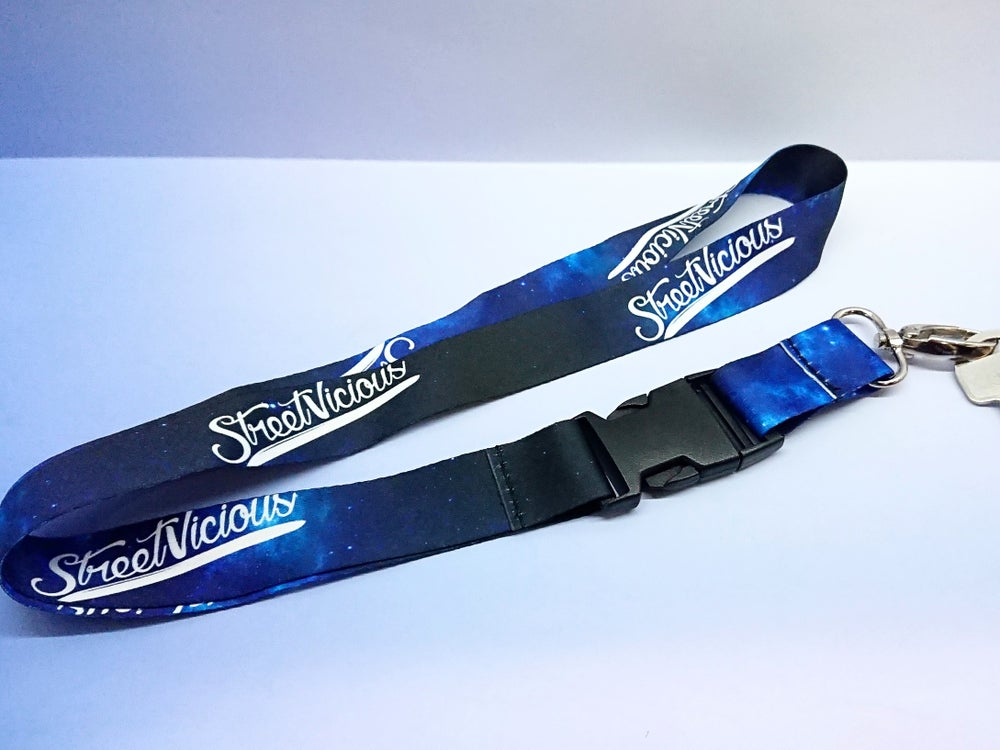 Image of Street Vicious Galaxy Lanyard