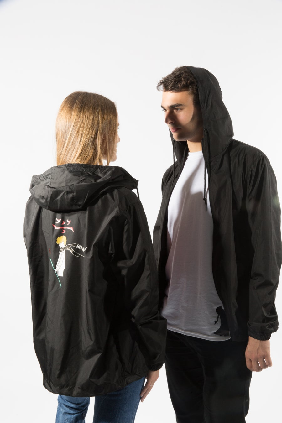 Second Image of black onyx windbreaker