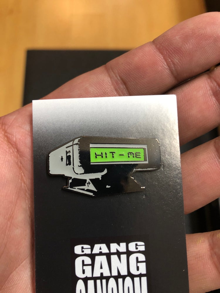 """""""If it's Major"""" Pager Enamel Pin"""