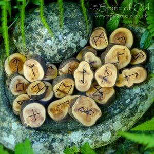 Image of Stonehenge Yew Character Runes (D224)