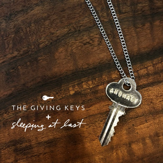 "Image of Enneagram 5 - ""ANOMALY"" Key Necklace"