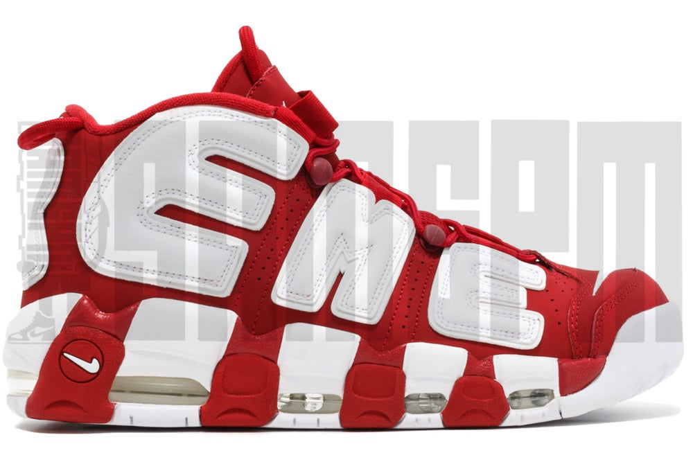 "Image of Nike AIR MORE UPTEMPO ""SUPREME RED"""