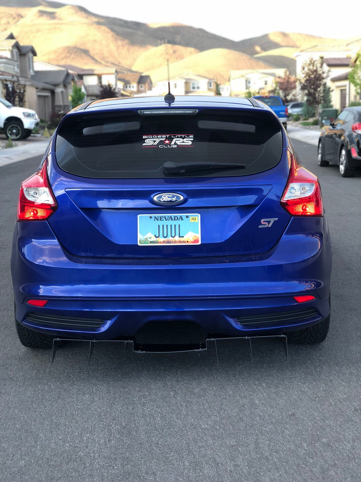 Ford focus st diffuser