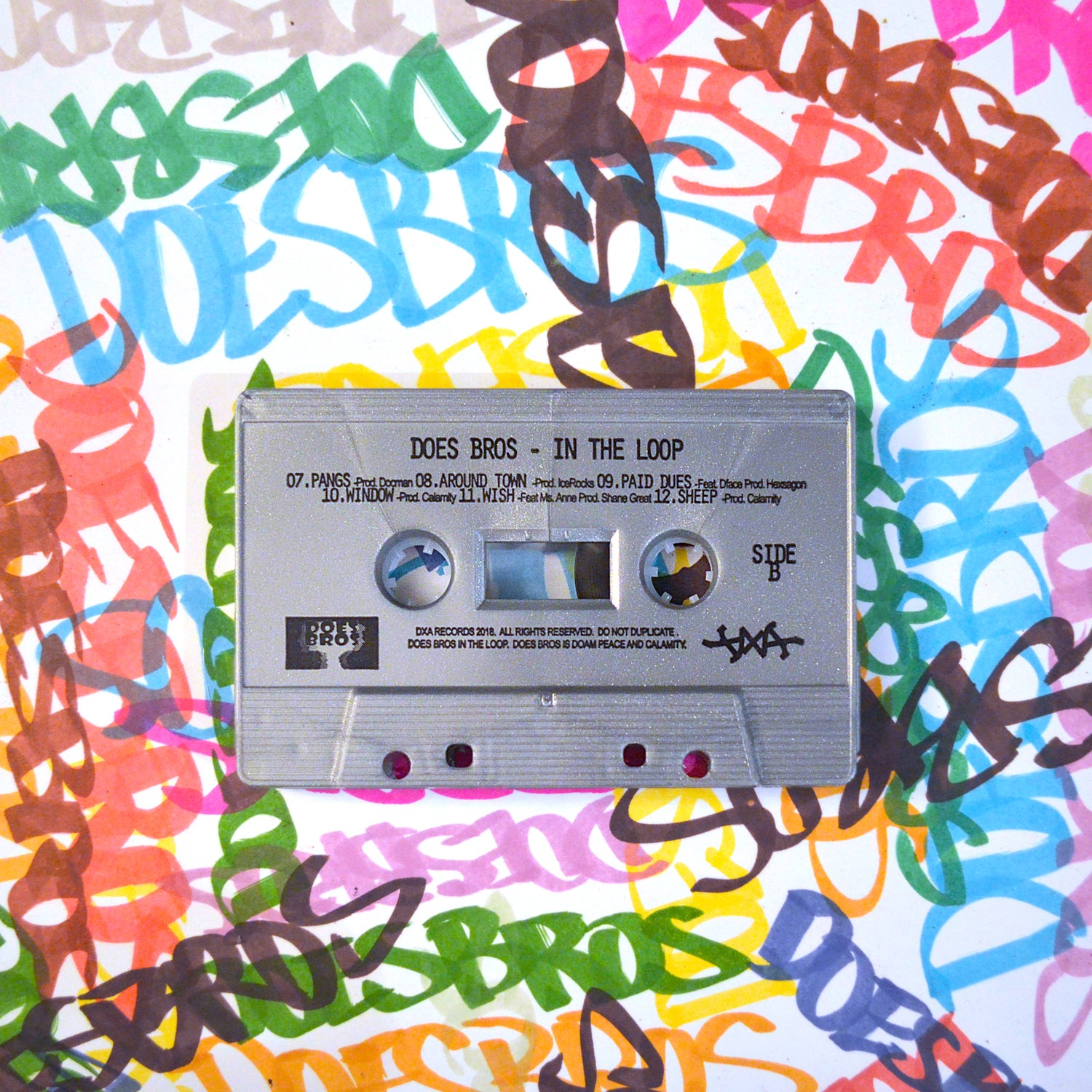 Image of Does Bros - In The Loop // Cassette w Digital Download