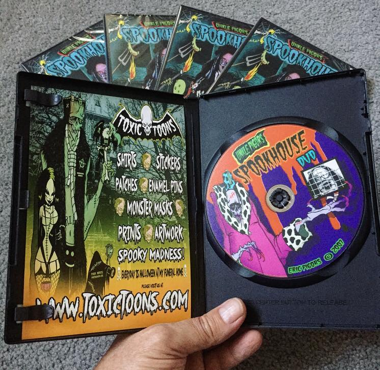 Image of unkle pigors spookhouse dvd - signed!