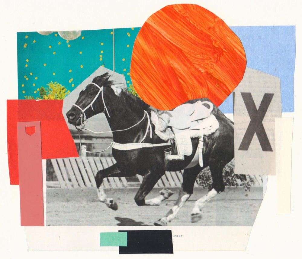 Image of Riderless Horse Collage