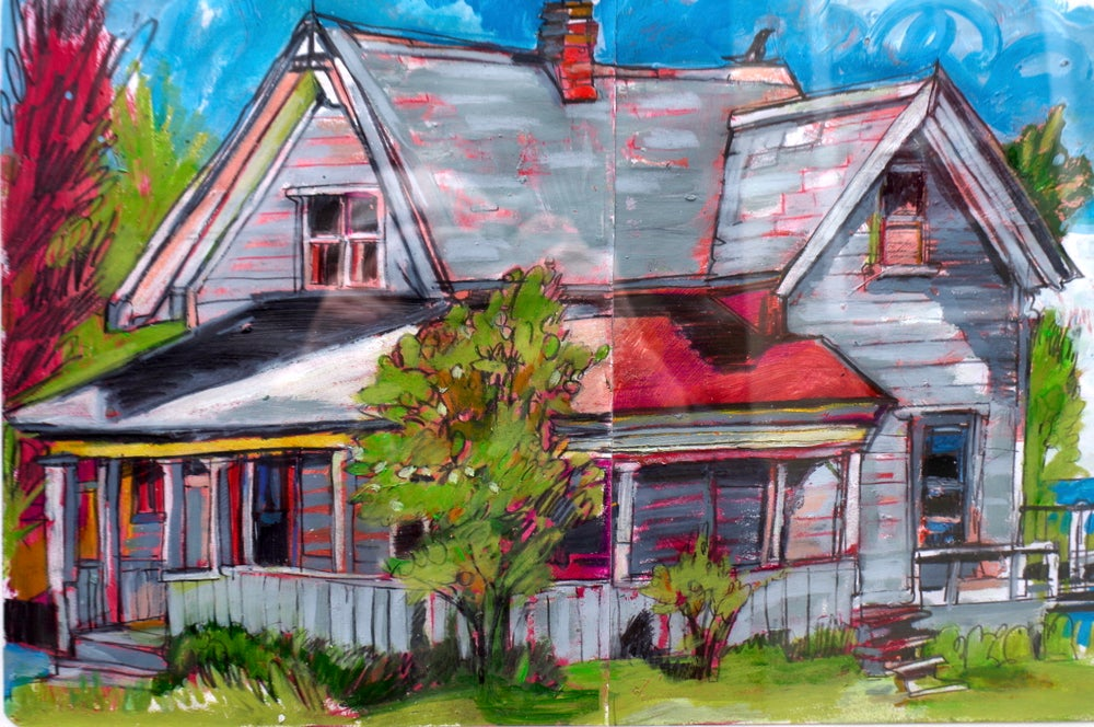 Image of Grey House, Maine