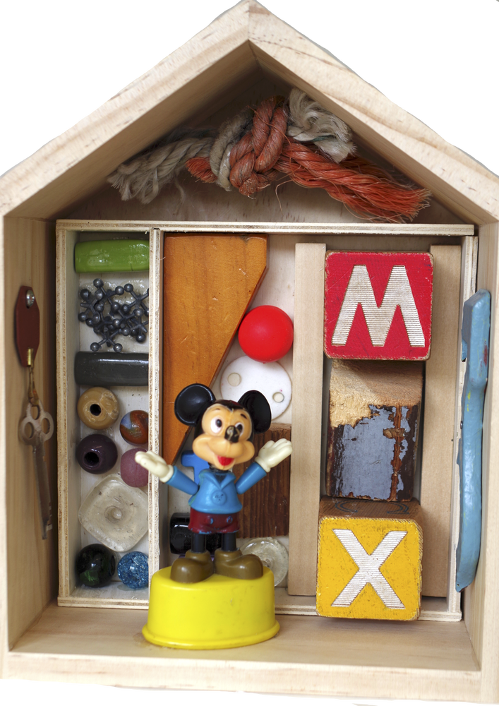Image of Mickey's House Collage Box
