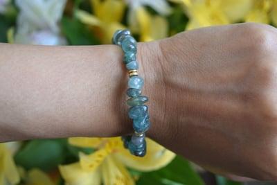Image of Apatite for Love bracelet