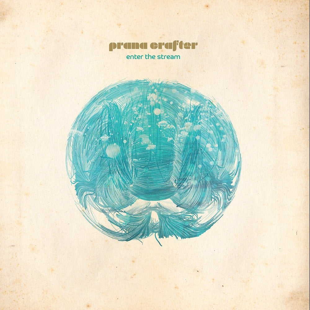 Image of Prana Crafter - Enter The Stream (Cardinal Fuzz / S.O.B) LTD Colour 2 LEFT IN STOCK