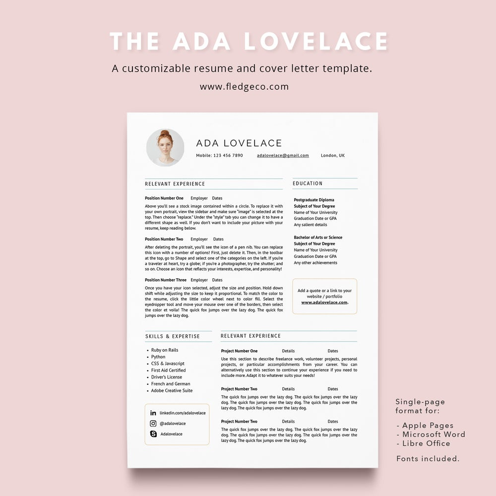 Image of The Ada Lovelace