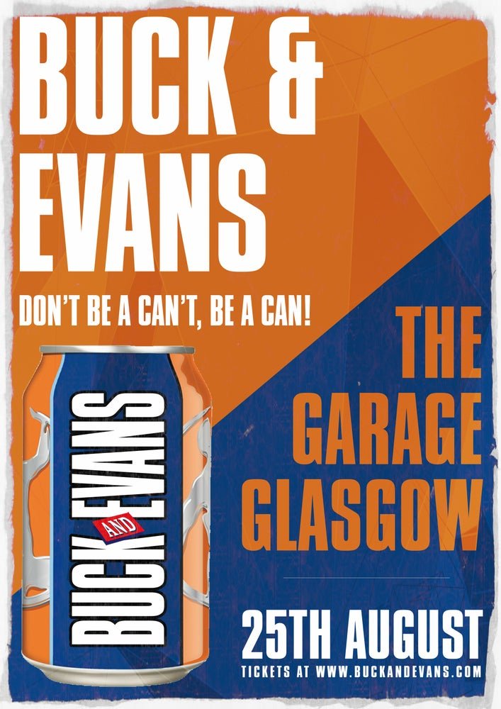 Image of eTicket: Buck & Evans Live at The Garage, Glasgow