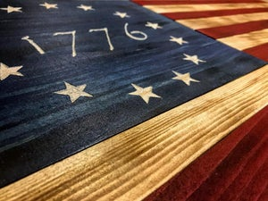 Image of Valorwood US Flag - Small
