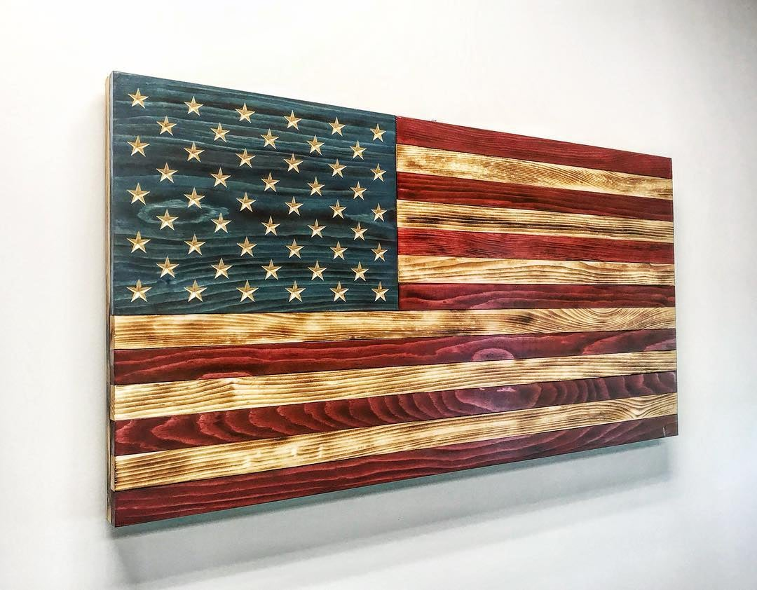 Image of Valorwood US Flag - Large