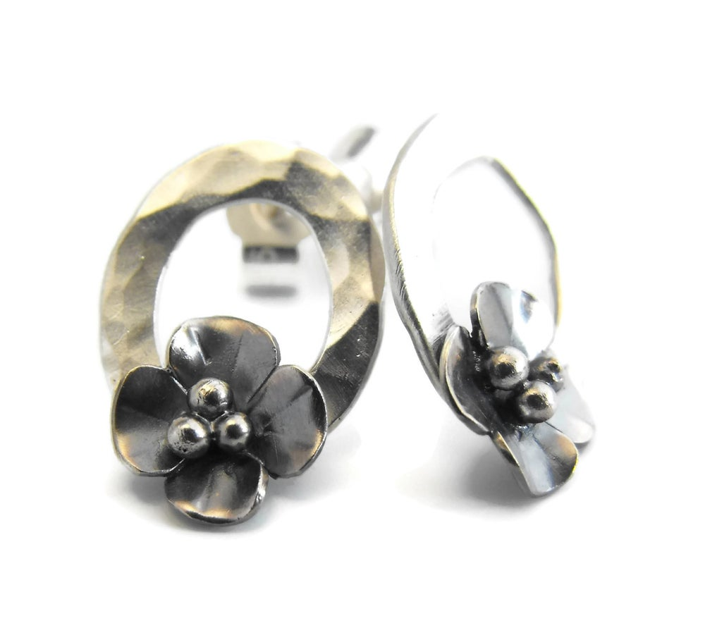 Image of Buttercup Hoop earrings